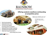 Male Learning Support Assistant  needed at Rainbow International School Uganda